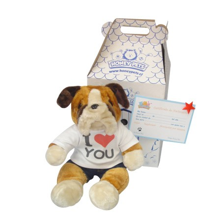 Honey Pets Bulldog Enamorado